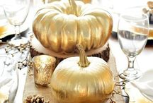 Fall Decorating Ideas / Fun and festive decorating ideas for fall weddings and parties