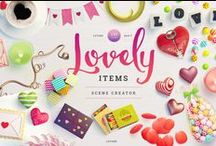 Holiday : Valentine's Day Cards + Paper Goods / Everything for Valentine's Day . . . Cards, Templates, DIYs, Printables, Handmade Cards, and even Styled Stock Photography