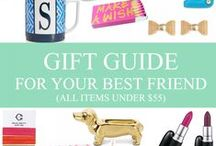 gift guide: for your best friend. / sentimental gifts for under $55. / by Mary-Katherine Minnis