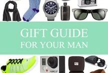gift guide: for your man. / let's be real, they are hard to shop for. / by Mary-Katherine Minnis