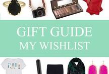 gift guide: my wishlist. / by Mary-Katherine Minnis