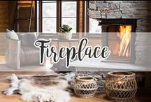 HOME // Fireplace / Take a chill pill.