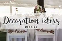WEDDING // Decoration ideas