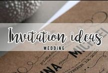 WEDDING // Invitation ideas
