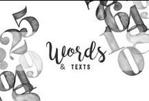 Words & texts