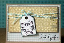 Card Ideas... / A bunch of card ideas and tags to tackle someday! / by Dawn & Aggie