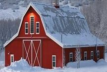 Barns / It will not always be summer; build barns.  ~Hesiod   / by D Stepp | The Shady Porch & Craft-D-ness