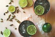 liquid courage / cocktails, tonics, tinctures