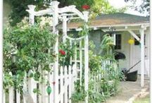 Gardening, Landscaping, Outbuildings / by Creating a Life