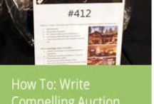 Auction Items / All things oriented around the actual auction items, raffles, and projects for a live and silent auction