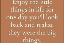 Favorite quotes & wisdom.
