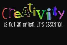 Creative Quotes / Please note: Creativity for Kids makes every effort to find the original post. If you would like the pin removed, please e-mail us at socialmedia@fabercastell.com.