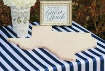 Guest Books / Wedding guest book ideas and alternatives! / by Smarty Had A Party
