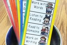 Daily 5 Resources / The Daily 5 can be a great way to manage your Reader's Workshop time.  These pins provide teachers with ideas, photographs, and strategies to effectively implement the Daily 5 in their elementary classroom!