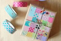 Washi Wonders / Please pin from this board with consideration. It takes me a long time to put these together.