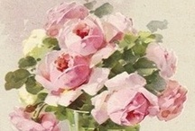 Vintage Roses / Please pin from this board with consideration. It takes me a long time to put these together.