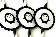 Penguin theme 30th Birthday / #penguintheme #30thbirthday #penguin / by Angie Marquardt