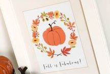 Holidays: Fall / Rosh Hashanah + Halloween + Thanksgiving