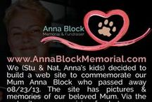 RIP My Mum Anna Block / A board to commemorate my Mum Anna Block who passed away from Metastatic Breast cancer on 08/23/2013 http://www.AnnaBlockMemorial.com