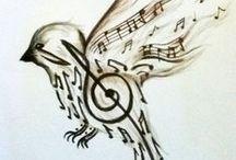 Shoulder Sparrow Tattoo Ideas / Shoulder Tatt