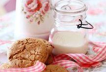 Milk and Cookies / Please pin from this board with consideration. It takes a long time to put these together.