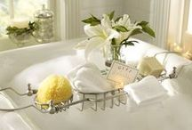 Bath Time Indulgence / Please pin with consideration. It takes a long time to put these together.