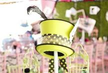 Mad Hatter Tea Party / Auction décor and ideas for a Mad Hatter Theme special event, gala and Fundraising events / by Greater Giving