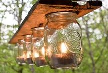 Mason Jar Projects / Mason Jars can be useful for a lot of other things besides storing food!