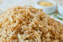 Rice Recipes / It's all about the rice