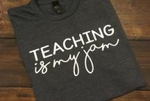 Teacher Fashion / Just because we teach doesn't mean we can't look (& feel!) good, too!  These pins showcase some stylish, appropriate, and most of all comfortable teacher fashion statements!