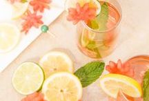 Summer Drinks / Cool off from the hot summer sun with party drinks