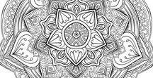 coloring pages | mandalas