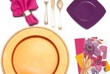 Charger Plate Inspiration / Get inspired by our beautiful charger plates and products that pair perfectly with them!