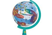 Globes / Globes can be fascinating, and they have a colorful history, but many people are now using their creativity to find ways of re-purposing globes. Working on these arts and crafts projects can be enjoyable for the whole family ― and a real bonding experience as well.