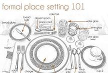 Place Setting 101 & Event Etiquette