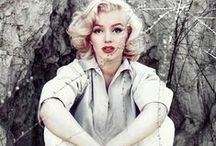 | she | / All about Marilyn Monroe / by | krzh |
