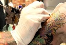 My tattoo guy: Sebastian Orth / Sebastian is a tattooist and owner of Otherworld Tattoo in Santa Barbara, CA
