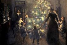"""{OLD FASHIONED CHRISTMAS} / """"Christmas is coming,  the goose is getting fat...  please put a penny in the old man's hat - if you haven't got a penny  then a ha' penny will do... and if you haven't got a ha' penny  then God bless you"""""""