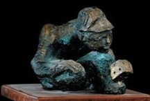 Private Collection / Bronze by Father Frans Claerhout