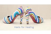 """Heals for healing! / Leef se projek om jouself uit te leef op n skoen om van bagasie ontslae te raak - of so te se """"Light te Travel"""""""