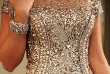 Pageant- Evening Gowns / Ideas for pageants- length, color, bling!  / by Andrea Bennett