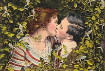 JUST A LITTLE KISS / by Karen Haskett