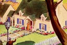 A DREAMY VINTAGE BUNGALOW / America's suburban dream home  / by Karen Haskett