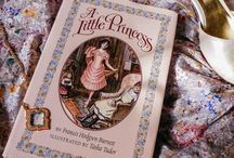 A LITTLE PRINCESS ~ Frances Hodgson Burnett / Written by British-born author Frances Hodgson Burnett; first published in 1905.  The story of Sara Crewe, privileged daughter of a wealthy diamond merchant; all the other girls at Miss Minchin's school treat Sara as if she truly were a princess. But when Captain Crewe's fortune is sadly lost, Sara's luck changes. Suddenly she's treated no better than a maid. Her own  determination to maintain her dignity & remain a princess inside has delighted readers for over 100 years.