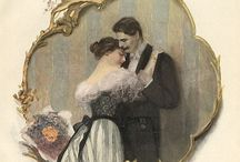 """VINTAGE COUPLES / """"The greatest thing you'll ever learn Is just to love and be loved in return""""  / by Karen Haskett"""