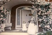 WALLACE NUTTING / Produced amazingly beautiful Hand tinted / colorized photographs and furniture.