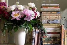 """A GARDEN & A LIBRARY ⌛️ / """"If you have a garden and a library, you have everything you need"""" ~ Marcus Tullius Cicero"""