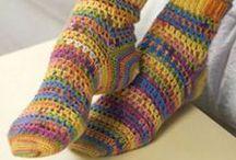 CROCHET SOCKS & slippers