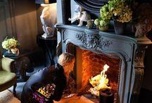 A DARK & LOVELY HOME / Design Inspiration board / by Karen Haskett