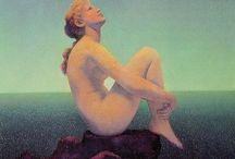 ART ~ MAXFIELD PARRISH / I want to live in a Parrish Painting.... / by Karen Haskett